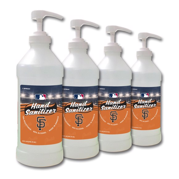 Picture of San Francisco Giants 32 oz. Hand Sanitizer