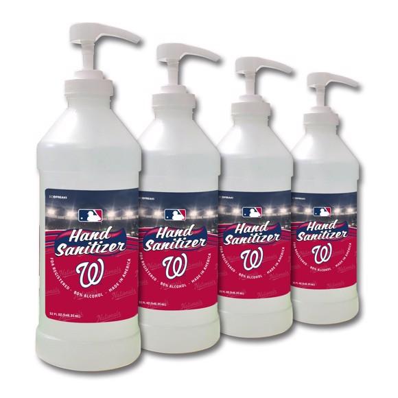 Picture of Washington Nationals 32 oz. Hand Sanitizer