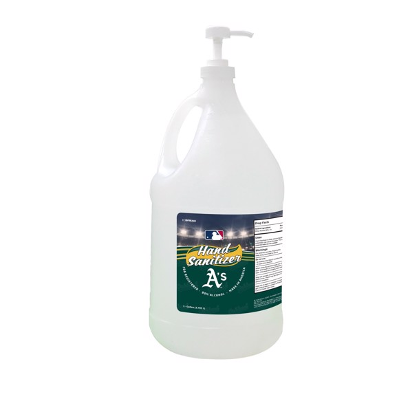 Picture of Oakland Athletics 1 Gallon Hand Sanitizer