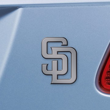 Picture of MLB - San Diego Padres Emblem - Chrome