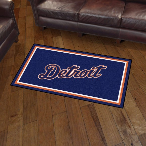 Picture of Detroit Tigers 3x5 Rug