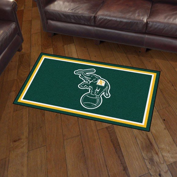 Picture of Oakland Athletics 3x5 Rug