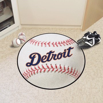 Picture of Detroit Tigers Baseball Mat