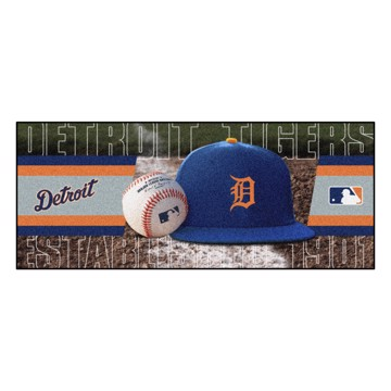Picture of Detroit Tigers Baseball Runner