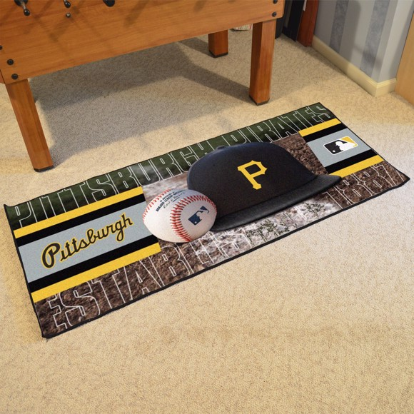 Picture of Pittsburgh Pirates Baseball Runner