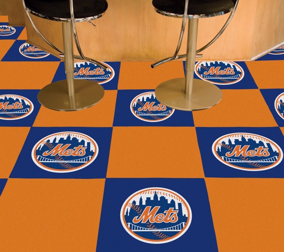 Picture of New York Mets Team Carpet Tiles