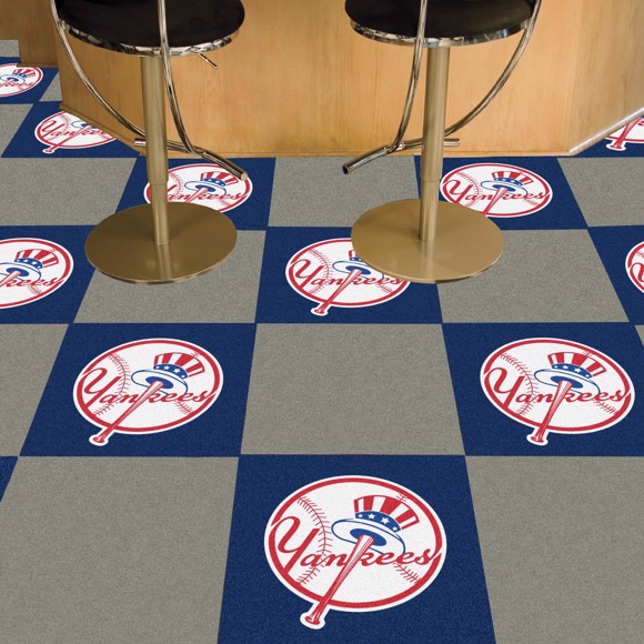Picture of New York Yankees Team Carpet Tiles