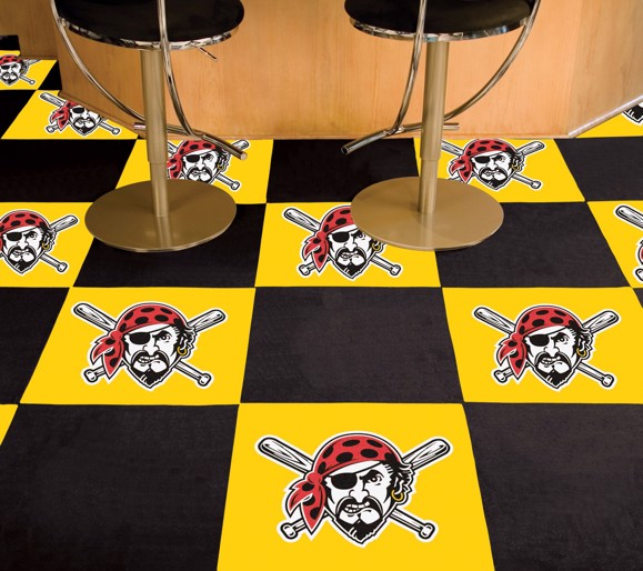 Picture of Pittsburgh Pirates Team Carpet Tiles