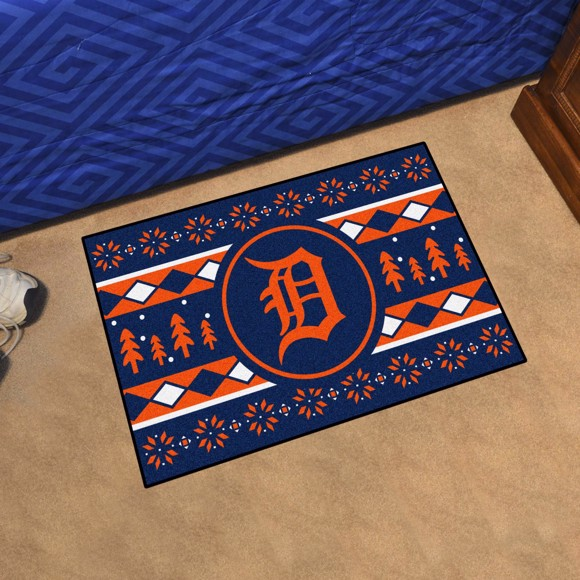 Picture of Detroit Tigers Holiday Sweater Starter Mat