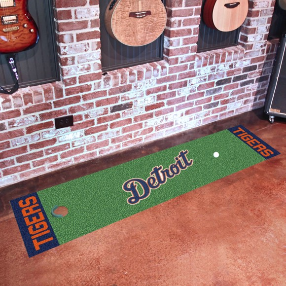Picture of Detroit Tigers Putting Green Mat