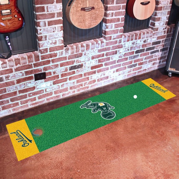 Picture of Oakland Athletics Putting Green Mat