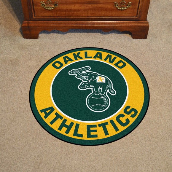 Picture of Oakland Athletics Roundel Mat
