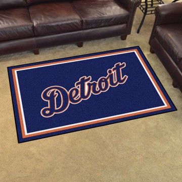 Picture of Detroit Tigers 4x6 Rug