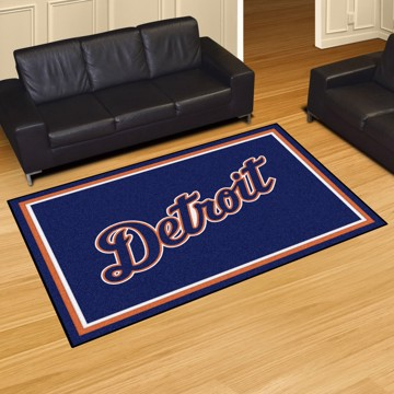Picture of Detroit Tigers 5x8 Rug