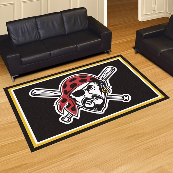 Picture of Pittsburgh Pirates 5x8 Rug