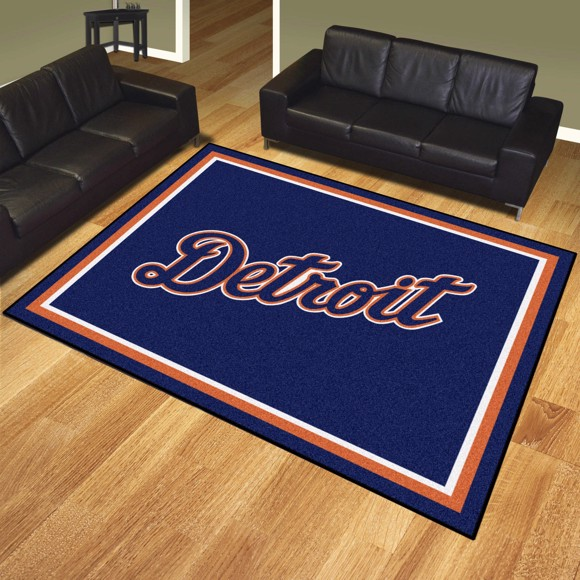 Picture of Detroit Tigers 8x10 Rug