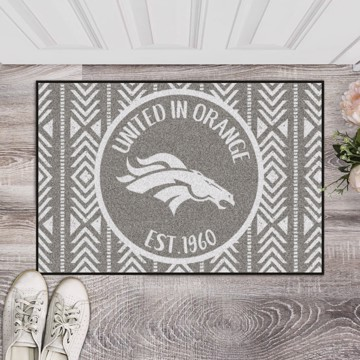 Picture of Denver Broncos Starter Mat - Southern Style