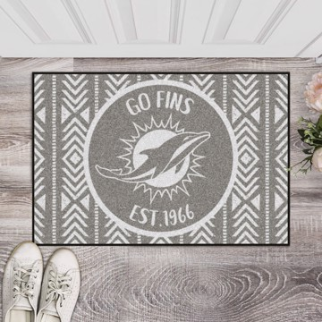 Picture of Miami Dolphins Starter Mat - Southern Style