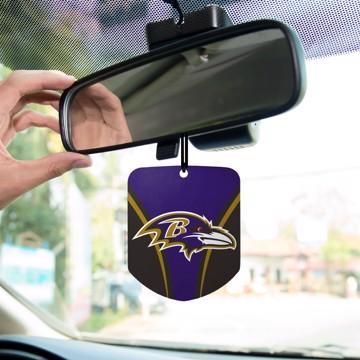 Picture of NFL - Baltimore Ravens Air Freshener 2-pk