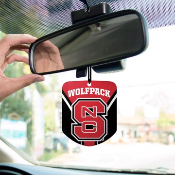 Picture of NC State Air Freshener 2-pk