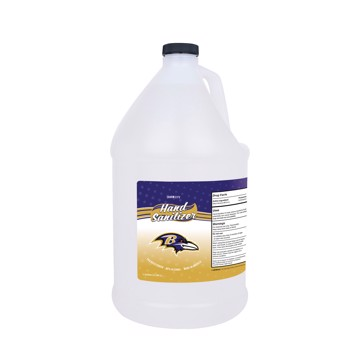 Picture of Baltimore Ravens 1-gallon Hand Sanitizer with Pump Top
