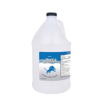Picture of Detroit Lions 1-gallon Hand Sanitizer with Pump Top