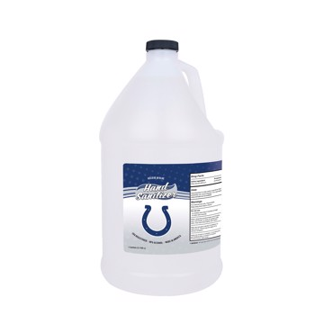 Picture of Indianapolis Colts 1-gallon Hand Sanitizer with Pump Top
