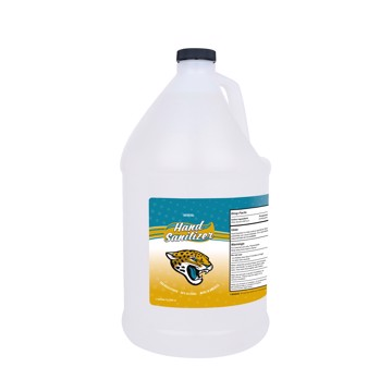 Picture of Jacksonville Jaguars 1-gallon Hand Sanitizer with Pump Top