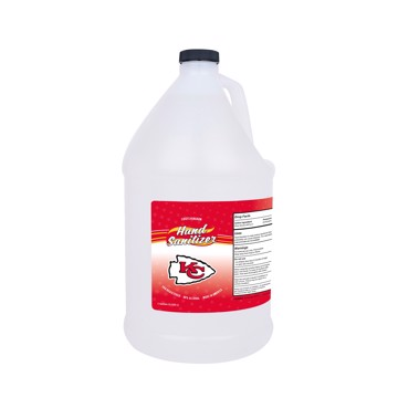 Picture of Kansas City Chiefs 1-gallon Hand Sanitizer with Pump Top