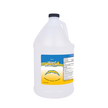 Picture of Los Angeles Chargers 1-gallon Hand Sanitizer with Pump Top