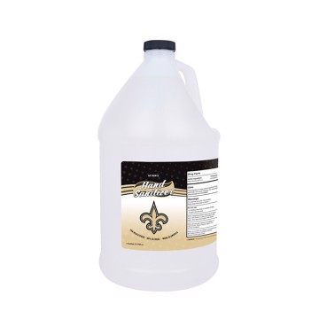 Picture of New Orleans Saints 1-gallon Hand Sanitizer with Pump Top