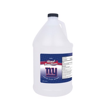 Picture of New York Giants 1-gallon Hand Sanitizer with Pump Top