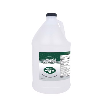 Picture of New York Jets 1-gallon Hand Sanitizer with Pump Top