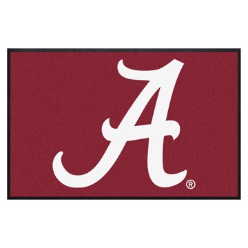 Picture of Alabama 4X6 High-Traffic Mat with Durable Rubber Backing