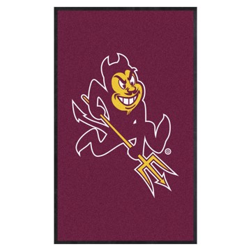 Picture of Arizona State 3X5 High-Traffic Mat with Durable Rubber Backing