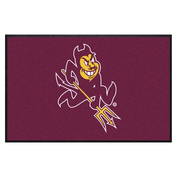 Picture of Arizona State 4X6 High-Traffic Mat with Durable Rubber Backing