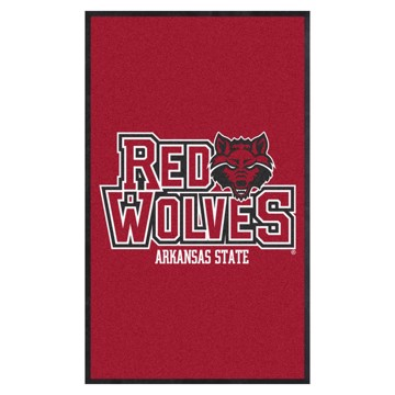 Picture of Arkansas State 3X5 High-Traffic Mat with Durable Rubber Backing