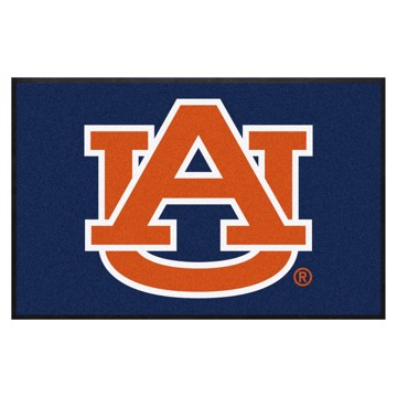 Picture of Auburn 4X6 High-Traffic Mat with Durable Rubber Backing