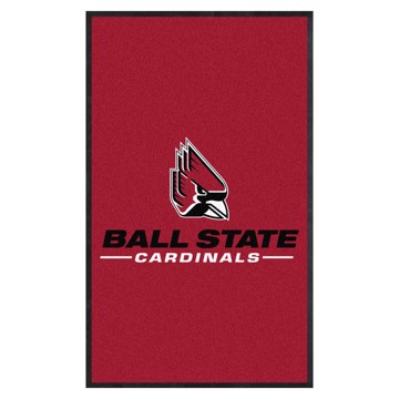 Picture of Ball State 3X5 High-Traffic Mat with Durable Rubber Backing