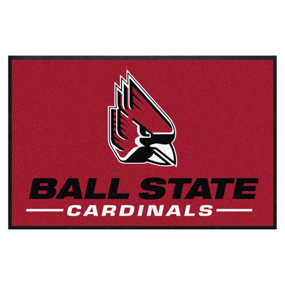 Picture of Ball State 4X6 High-Traffic Mat with Durable Rubber Backing
