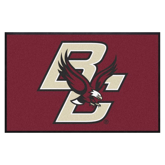 Picture of Boston College 4X6 High-Traffic Mat with Durable Rubber Backing