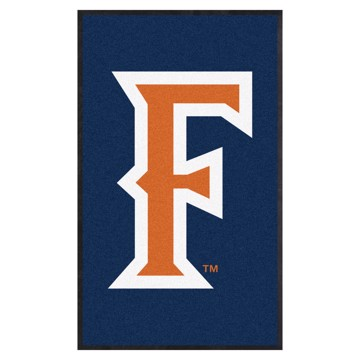 Picture of Cal State - Fullerton 3X5 High-Traffic Mat with Durable Rubber Backing