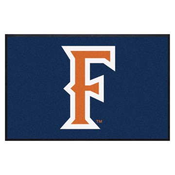 Picture of Cal State - Fullerton4X6 High-Traffic Mat with Durable Rubber Backing
