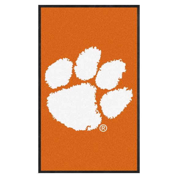 Picture of Clemson 3X5 High-Traffic Mat with Durable Rubber Backing