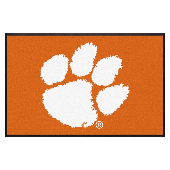 Picture of Clemson 4X6 High-Traffic Mat with Durable Rubber Backing
