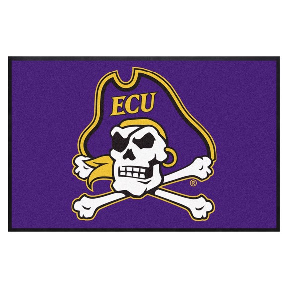 Picture of East Carolina 4X6 High-Traffic Mat with Durable Rubber Backing