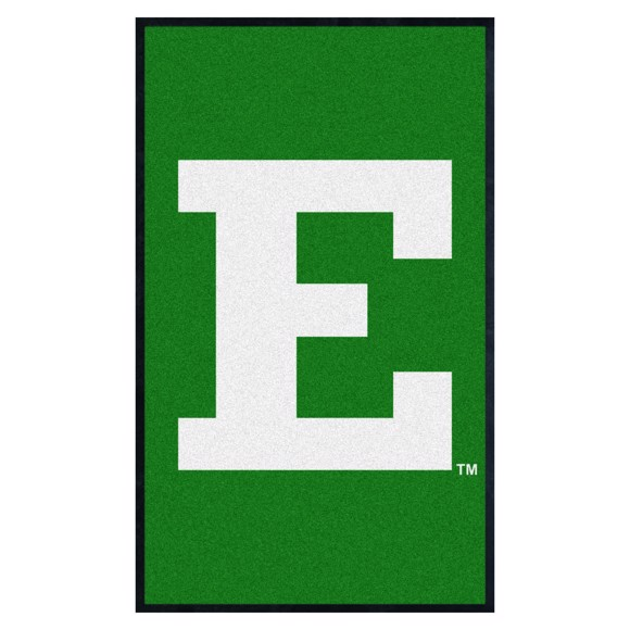 Picture of Eastern Michigan 3X5 High-Traffic Mat with Durable Rubber Backing