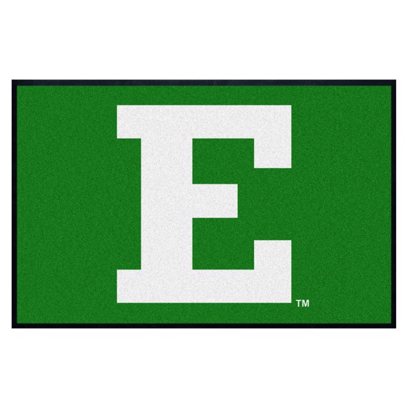 Picture of Eastern Michigan 4X6 High-Traffic Mat with Durable Rubber Backing