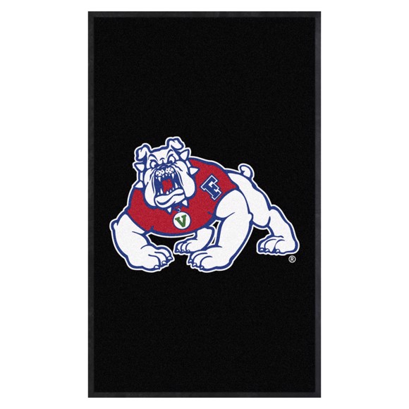 Picture of Fresno State 3X5 High-Traffic Mat with Durable Rubber Backing