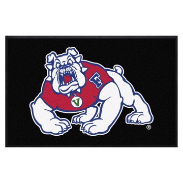 Picture of Fresno State 4X6 High-Traffic Mat with Durable Rubber Backing